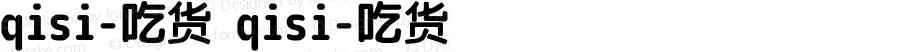 qisi-吃货 qisi-吃货 Version 1.00 August 14, 2014, initial release