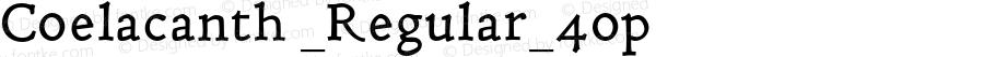 Coelacanth _Regular_4op Version 000.002