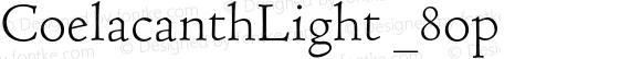 CoelacanthLight _8op Version 000.002