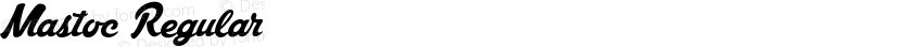 Mastoc Regular Preview Image