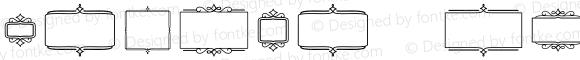 Church in the Wildwood Extras Frames Regular Version 1.000;PS 002.000;hotconv 1.0.70;makeotf.lib2.5.58329