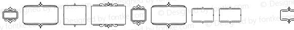 ChurchWW Extras Frames Regular Version 2.100;PS 002.100;hotconv 1.0.70;makeotf.lib2.5.58329