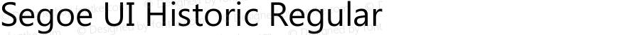 Segoe UI Historic Regular