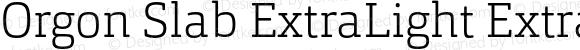 Orgon Slab ExtraLight ExtraLight