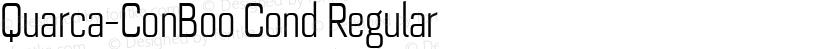 Quarca-ConBoo Cond Regular Preview Image