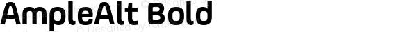 AmpleAlt Bold 001.001;com.myfonts.easy.soneri.ample-alt.bold.wfkit2.version.4hwE