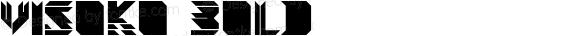 Visoko Bold Version 1.001;com.myfonts.mostardesign.visoko.black.wfkit2.3khs