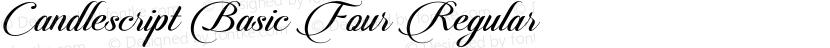 Candlescript Basic Four Regular Preview Image