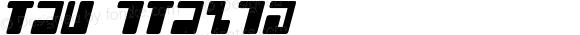 Tau Italic Version 1.00 November 20, 2014, initial release