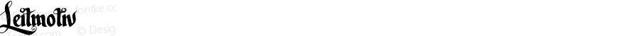 Leitmotiv ☞ Version 1.00 November 4, 2013, initial release;com.myfonts.easy.nowak.leitmotiv.regular.wfkit2.version.44Qv
