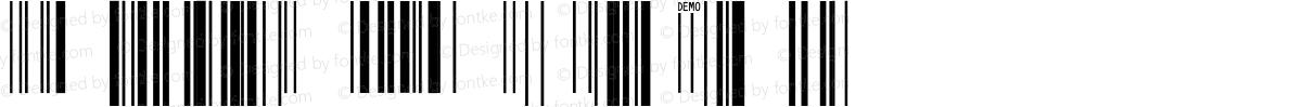 IDAutomationSUPCEANXSn Demo Regular