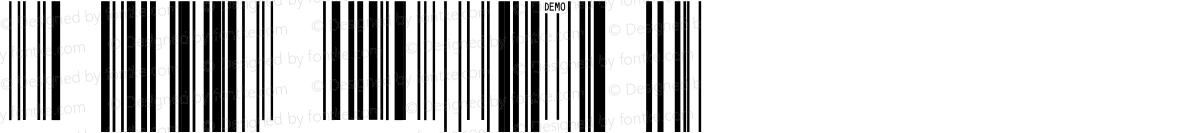 IDAutomationSUPCEANSn Demo Regular