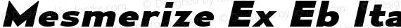 Mesmerize Ex Eb Italic preview image