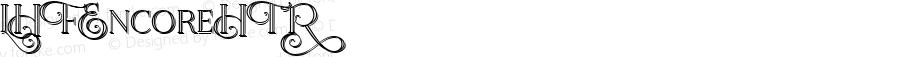 LHFEncoreHTR ☞ (1.0) #License#;com.myfonts.easy.letterheadfonts.lhf-encore.htr.wfkit2.version.4i7X
