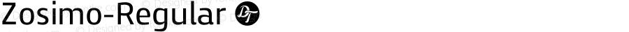 Zosimo-Regular ☞ Version 1.000;PS 001.000;hotconv 1.0.70;makeotf.lib2.5.58329;com.myfonts.easy.delicious-type.zosimo.regular.wfkit2.version.4fub