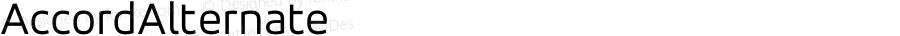 AccordAlternate ☞ 001.001;com.myfonts.easy.soneri.accord-alt.regular.wfkit2.version.42NZ