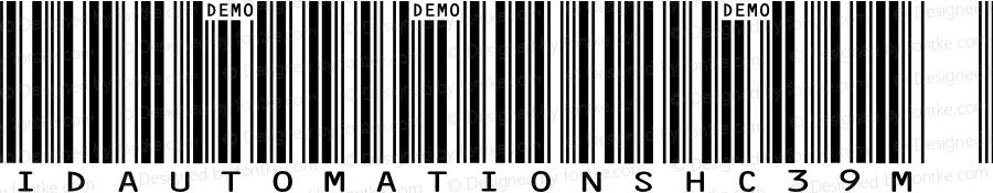 IDAutomationSHC39M Demo Regular IDAutomation.com 2014
