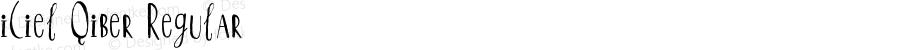 iCiel Qiber Regular Version 1.00 August 9, 2014, initial release
