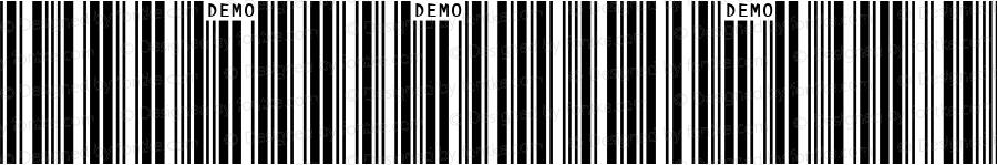 IDAutomationSYC39M Demo Regular IDAutomation.com 2014