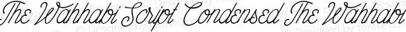 The Wahhabi Script Condensed The Wahhabi Script Condensed Unknown