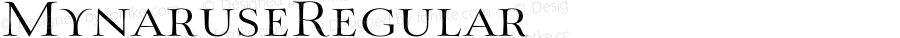 MynaruseRegular ☞ Version 1.000;com.myfonts.easy.insigne.mynaruse.regular-100311.wfkit2.version.3qLZ