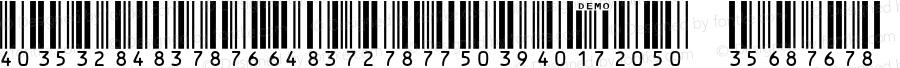 IDAutomationSHI25S Demo Regular IDAutomation.com 2014