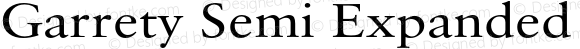Garrety Semi Expanded Regular Version 1.000