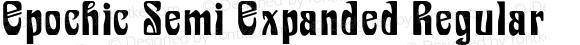 Epochic Semi Expanded Regular Version 1.000