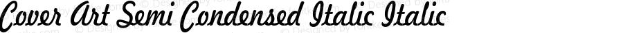 Cover Art Semi Condensed Italic Italic Version 1.000