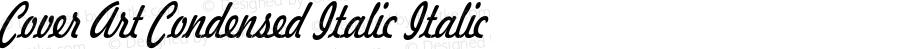 Cover Art Condensed Italic Italic Version 1.000