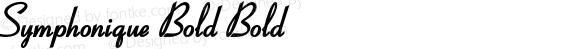 Symphonique Bold Bold preview image