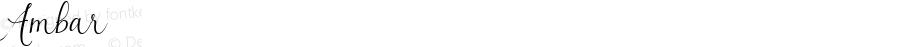 Ambar ☞ Version 1.000 2014 initial release;com.myfonts.easy.eurotypo.ambar.regular.wfkit2.version.4kLv
