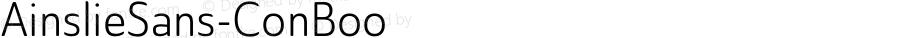 AinslieSans-ConBoo ☞ Version 1.000;com.myfonts.easy.insigne.ainslie-sans.cond-book.wfkit2.version.4kim