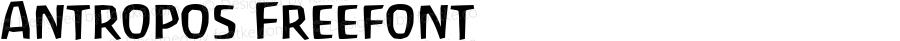 Antropos Freefont Macromedia Fontographer 4.1.5 98‐07‐16