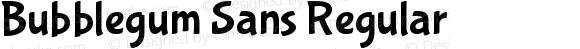 BubblegumSans-Regular