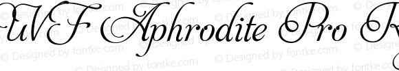 UVF Aphrodite Pro Regular Version 001.000