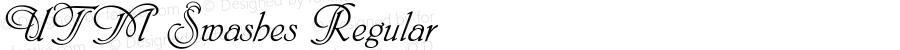 UTM Swashes Regular Bộ Font chữ Việt sử dụng bảng mã Unicode - http://www.fontchudep.vn