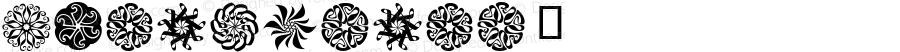 Lyra-Stars ☞ Version 1.000;com.myfonts.easy.canadatype.lyra.stars.wfkit2.version.4m8M