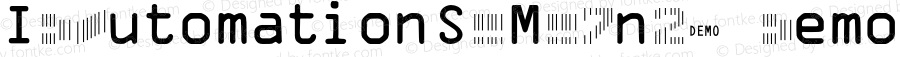 IDAutomationSCMC7n25 Demo Regular IDAutomation.com 2015