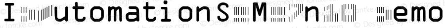 IDAutomationSCMC7n10 Demo Regular IDAutomation.com 2015