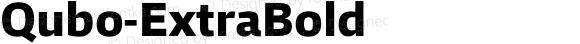Qubo-ExtraBold ☞