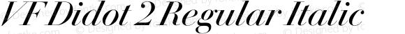 VF Didot 2 Regular Italic