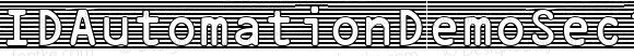 IDAutomationDemoSec1W Regular IDAutomation.com 2015