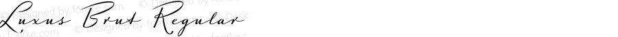 Luxus Brut Regular Version 1.076 2015