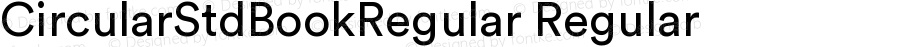 CircularStdBookRegular Regular Version 1.001; build 0002
