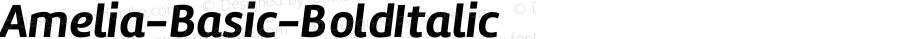 Amelia-Basic-BoldItalic ☞ Version 001.001;com.myfonts.tipotype.amelia-basic.bold-italic.wfkit2.417m