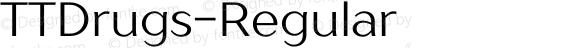 TTDrugs-Regular ☞ preview image