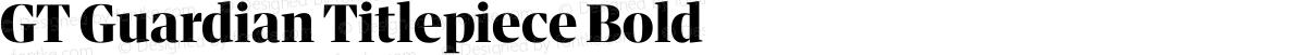 GT Guardian Titlepiece Bold