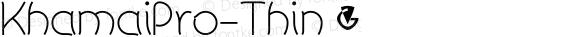 KhamaiPro-Thin ☞