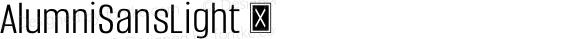 AlumniSansLight ☞ Version 1.000;PS 001.001;hotconv 1.0.56;com.myfonts.easy.typesetit.alumni.light.wfkit2.version.4mJt